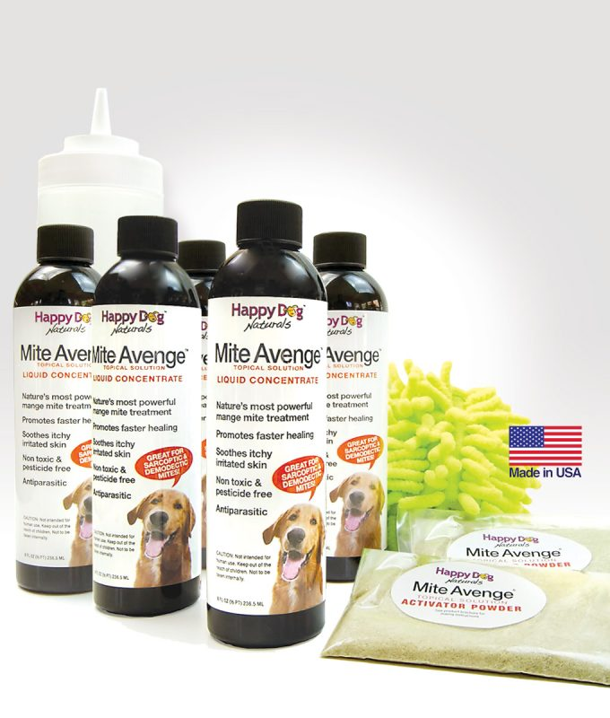 Mite Avenge® natural treatment for mange