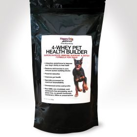 4 Whey improves your dogs immune health and speeds recovery from demodectic mange.