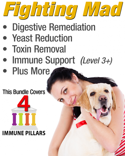 Immune support for dogs with mange or mite related issues