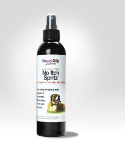 No Itch Spritz is perfect for the itches between Mite Avenge treatments.